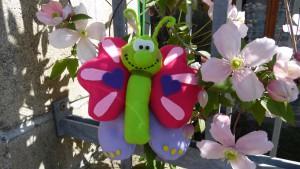 Farfalla-Clematis
